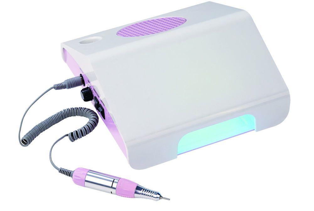 Машинка для аппаратного маникюра с пылесосом